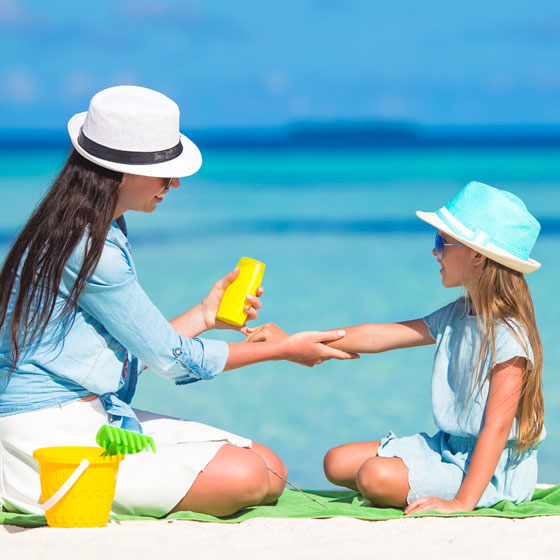 Blog Post: Did you put Sun Protection Cream on your Kids this Morning?