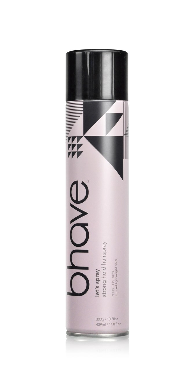 bhave Let's Spray - Strong Hold Hair Spray 439ml