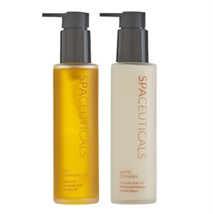 SpaCeuticals Bio Cleansing Oil and Lactic Cleanser Duo