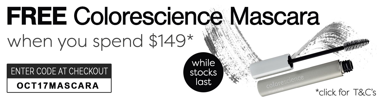 Free Colorescience Mascara when you spend $149