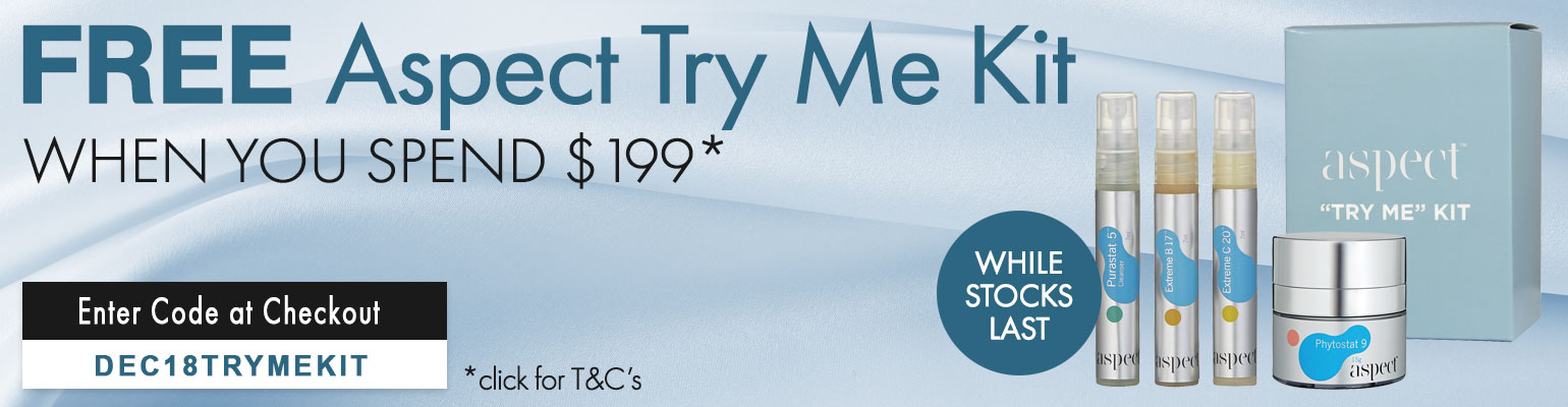 FREE Aspect Try Me Kit