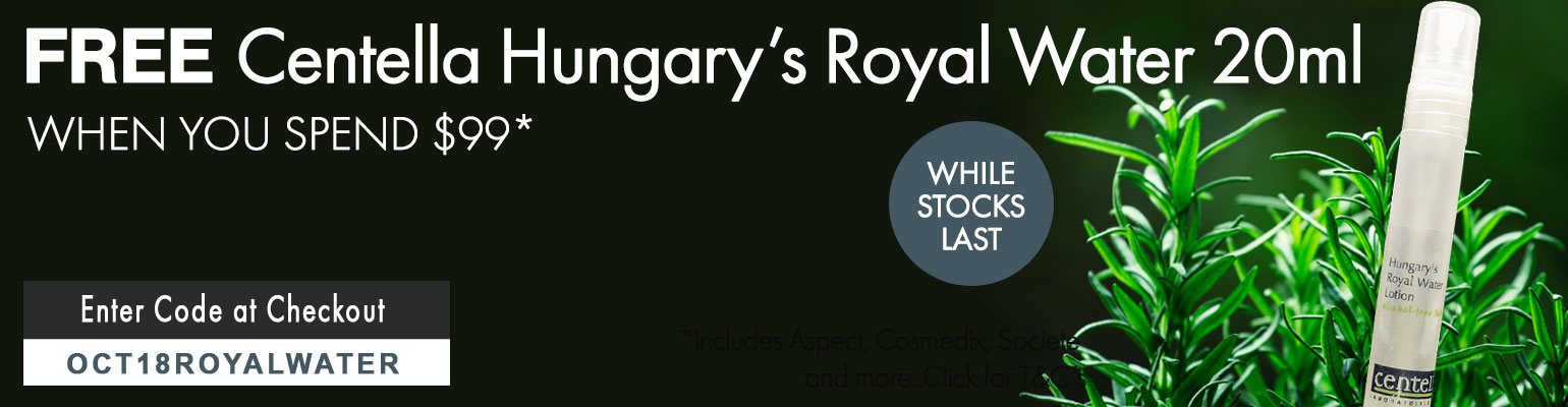 FREE Centella Hungary's Royal Water 20ml