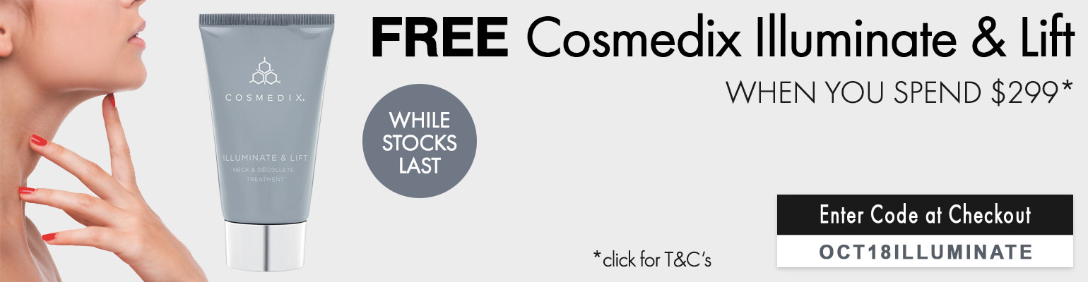 FREE Cosmedix Illuminate & Lift