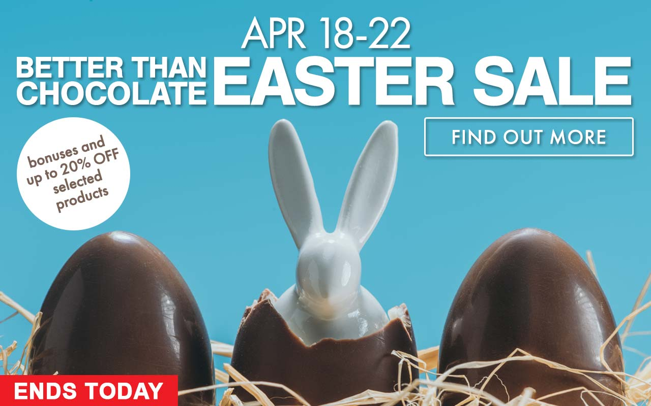 BETTER THAN CHOCOLATE EASTER SALE