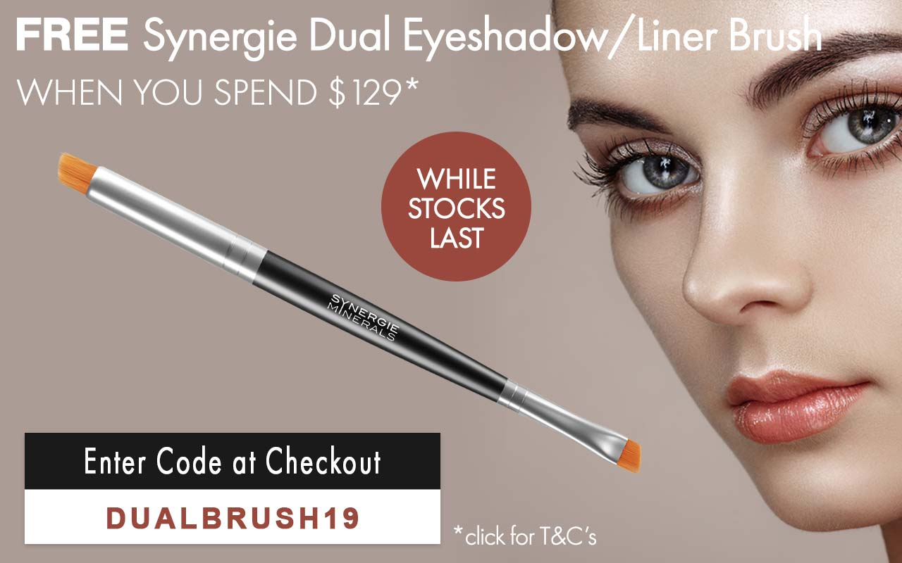 Free Synergie Dual Eye Shadow/Liner Brush