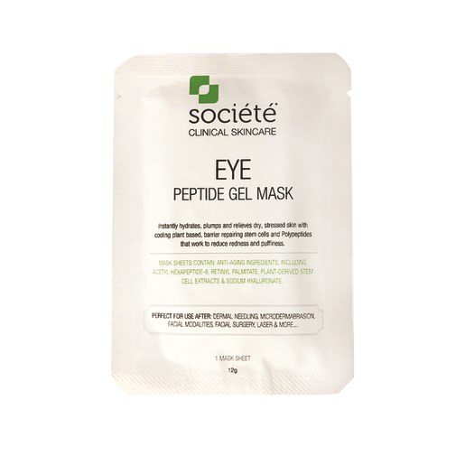FREE Societe Eye Peptide Gel Mask (1 single sheet only) worth $16