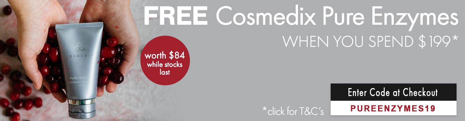 Free Cosmedix Pure Enzymes worth $84
