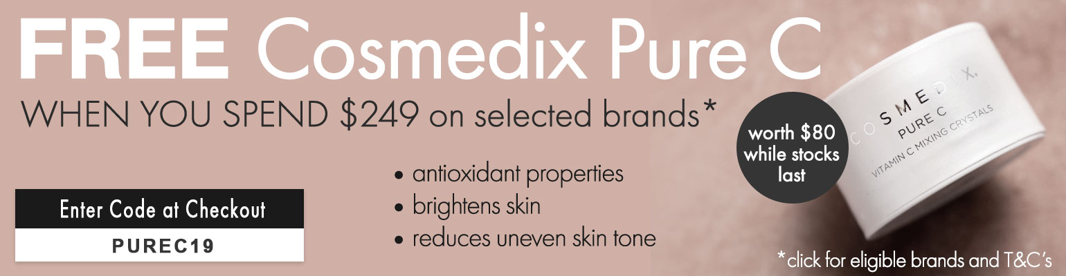 FREE Cosmedix Pure C worth $80