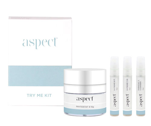 FREE Aspect Try Me Kit worth $44