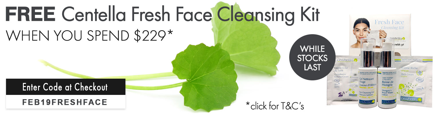 Free Centella Fresh Face Cleansing Kit