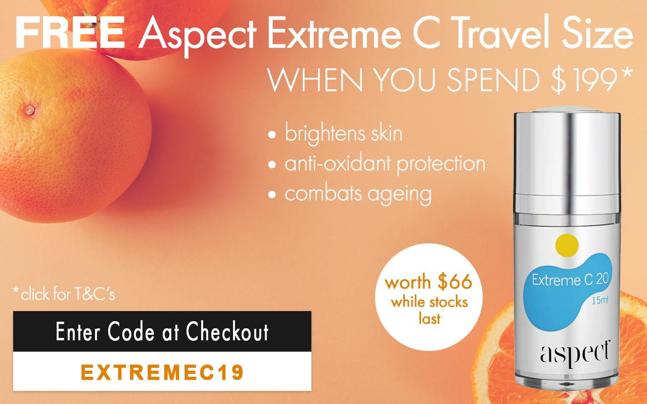 Free Aspect Extreme C Travel Size valued at $66