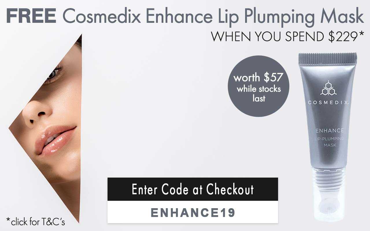 Free Cosmedix Enhance Lip Plumping Mask
