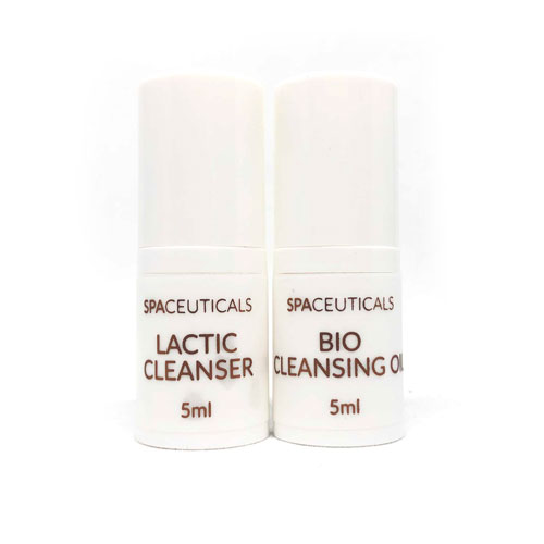 Free SpaCeuticals 5ml Cleansing Sample Duo