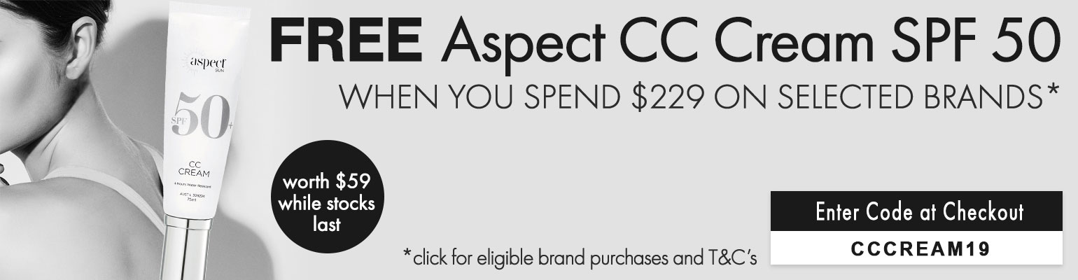 Free Aspect Sun Envirostat CC Cream SPF50 valued at $59
