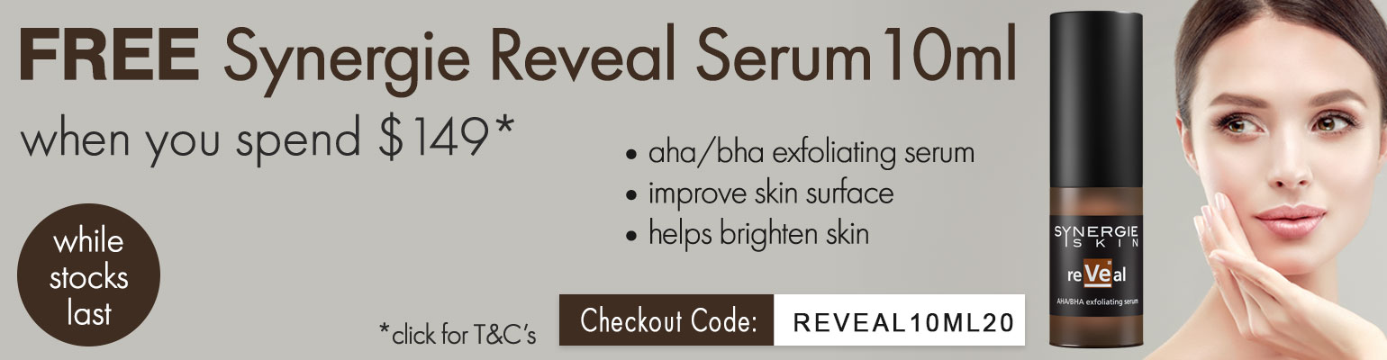 Free Synergie Reveal 10ml Offer