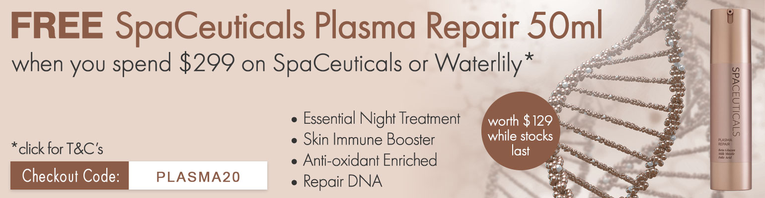 FREE SpaCeuticals Plasma Repair 50ml worth $129