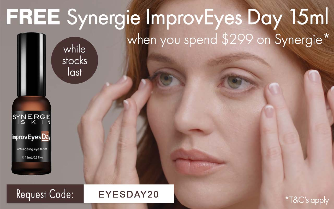 Free Synergie ImprovEyes Offer. Email or Phone to Enquire.