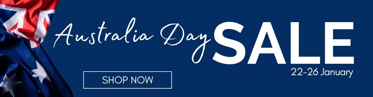 Australia Day Sale. Ends 26 January 2021